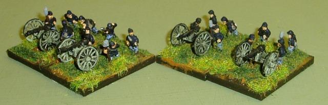 Federal artillery