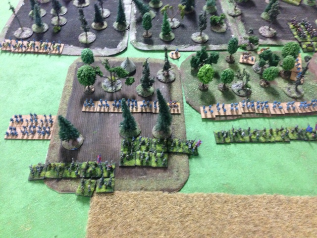 Game 2 :infantry charges