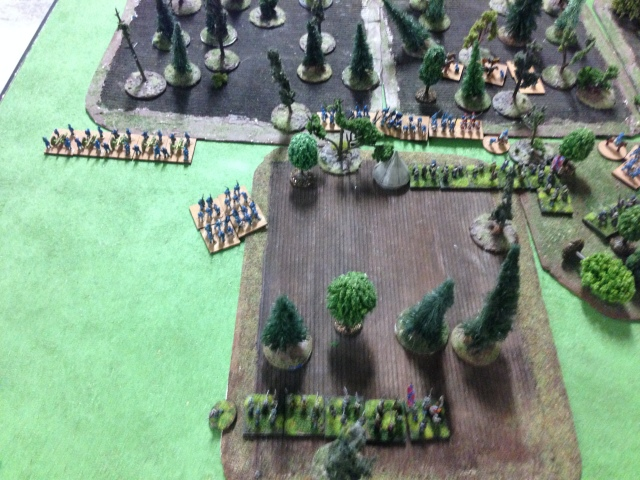 Game 2: End Left flank