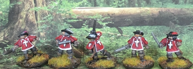 15mm Cardinals Guards 1
